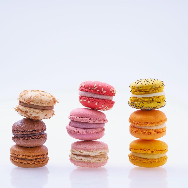 Macaron - Patisserie - Boulangerie - Thierry Pousset - Photographe culinaire - Photographe professionnel - Bordeaux
