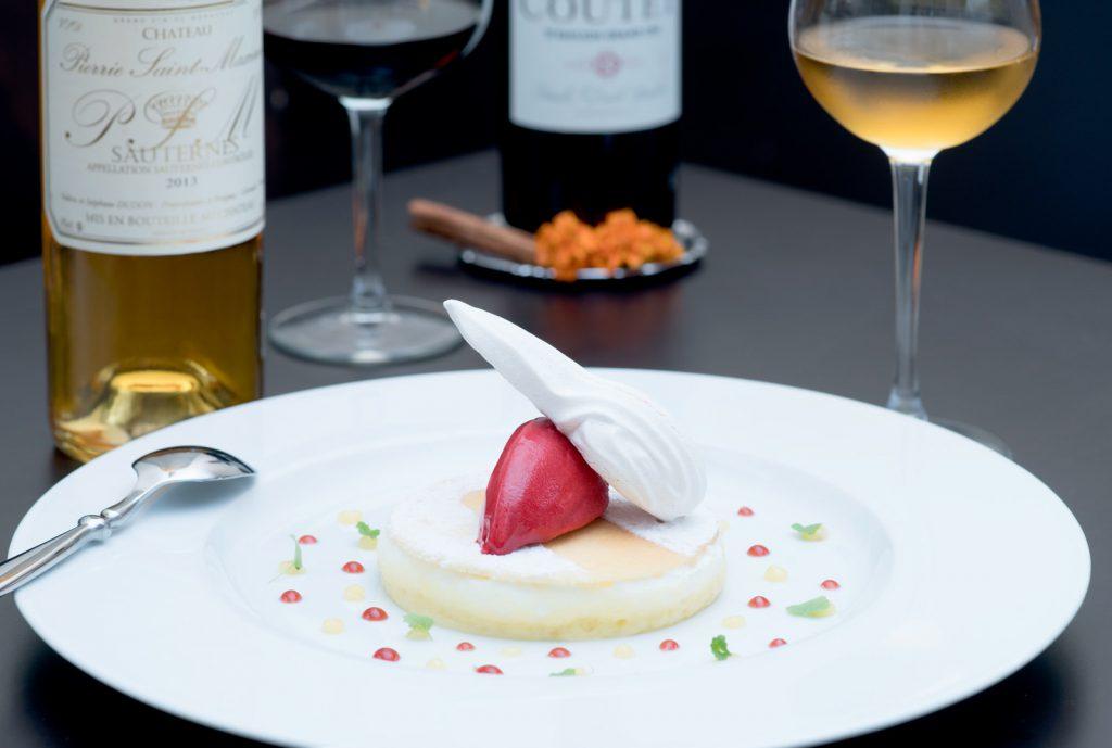 Dessert - Restaurant - vin - photo culinaire - Thierry Pousset - photographe culinaire - Bordeaux