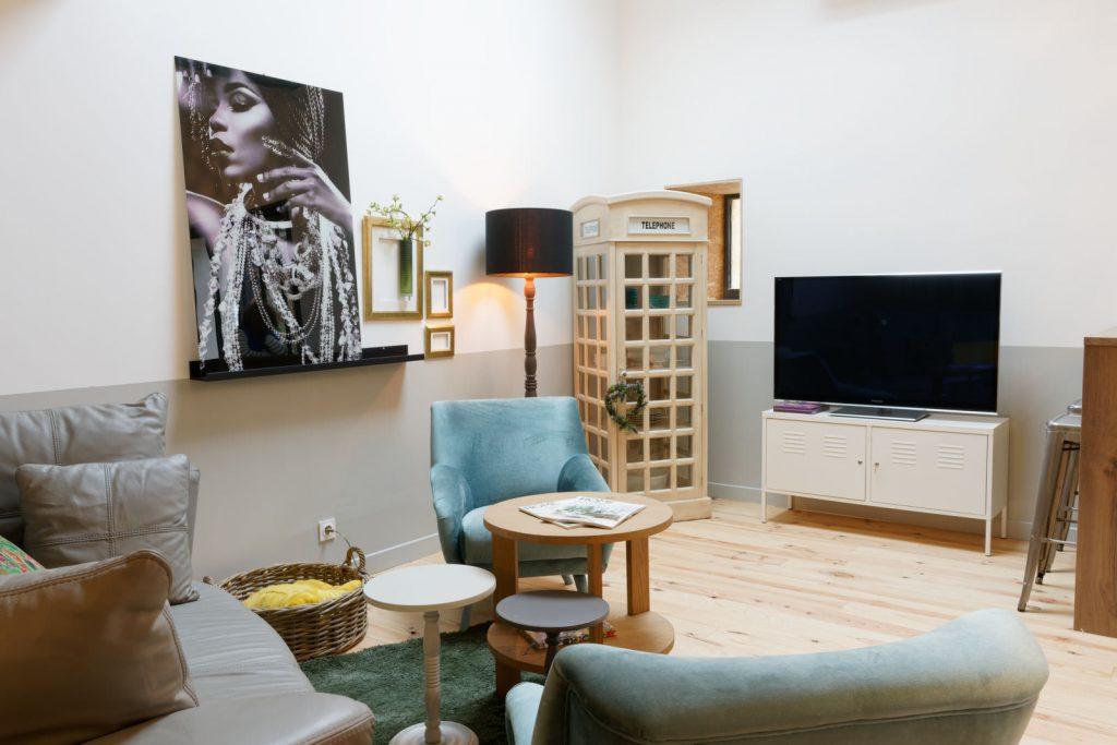 Salon - Pièce. à vivre - Gîte - Bordeaux - intérieur design - Thierry Pousset - Photographe professionnel