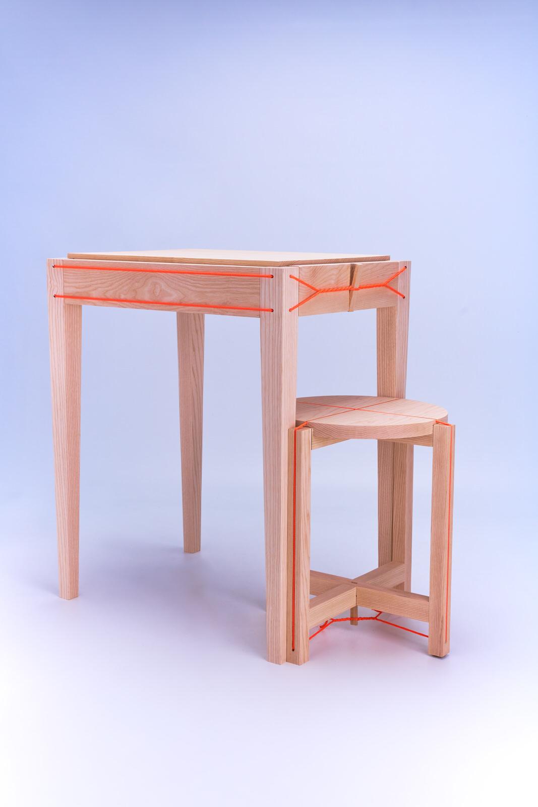 Design immobilier - Chaise - Photo produits - Table - Thierry Pousset - photographe publicitaire - Studio shooting