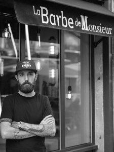 Portrait d'entreprise - Portrait professionnel - portrait corporate - Thierry Pousset - Gironde - Bordeaux - Portrait d'artisan - Portait Barbier