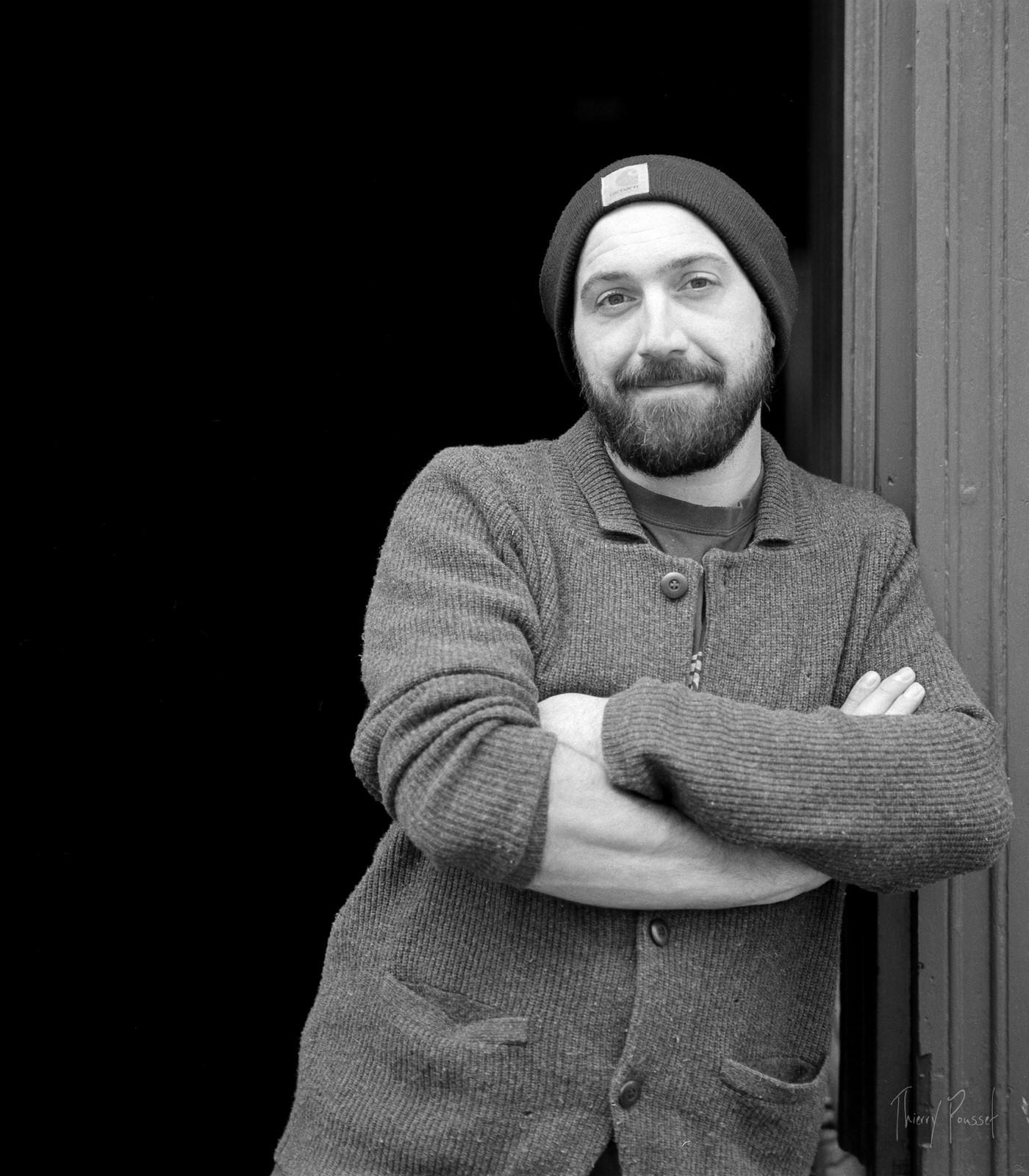 Portrait d'artisan - Entrepreneur - Thierry Pousset - Photographe professionnel - Bordeaux - shooting extérieur - portrait d'entrepreneur